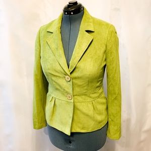 🌸2/$30🌸 Green Button-Up Blazer